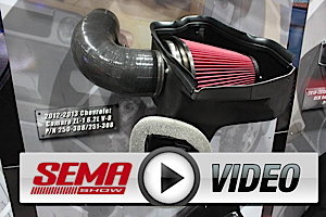 SEMA 2012: Airaid Unveils Their ZL1 Cold Air Intake