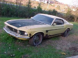 eBay Find: '69 Boss 302 Mustang Pulled From Barn