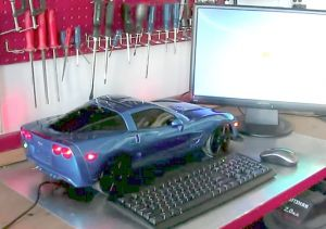 Video: A Remote-Controlled Corvette ZR1… Computer?