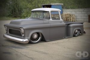 Delmo Speed and Kustom Wicked Chevy Truck Build