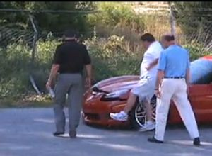Wrecked Vette Wednesday: C6 Z06 Versus Chain Link Fence