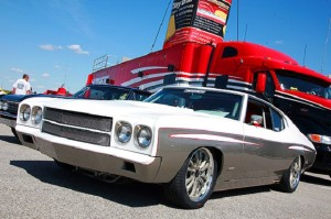 Propane-Powered, Supercharged 454ci Big-Inch Chevelle