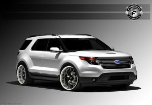 Ford Bringing A Trio Of SUV Concepts To SEMA