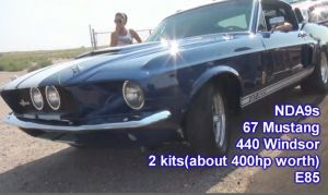 Video: 9-Second '67 GT500 VS. 1,200 HP '96 Cobra