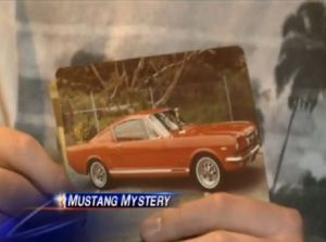 Mustang Heirloom Stolen From Family