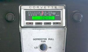 Classic Corvette Radios On Sale Plus Free Shipping at Zip