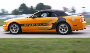 Kenny Brown Uses Weld Racing RT-S On Mango Tango Mustang