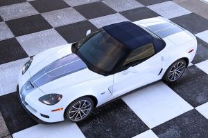60th Anniversary 427 Convertible Sports Cool Top with Subtle Stripes