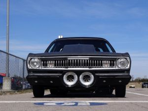 Darryl Johnson's Twin-F2 Drag Week Duster Makes Noise