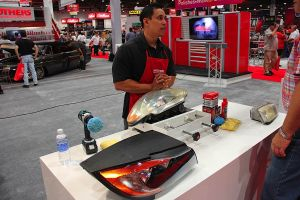SEMA 2012: Mother's Wows With Booth Vehicle And New Car Care Product