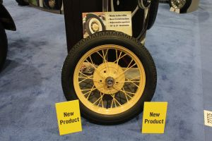 SEMA 2012: Coker Tires Adjustable Spoke Wheels