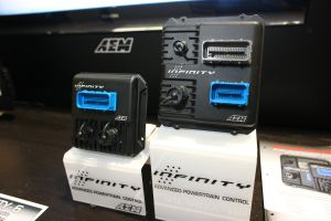 PRI 2012: AEM's New, Smaller Infinity Standalone and Fuel Pump