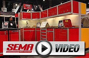 SEMA 2012: Moduline Helps Create The Garage Of Your Dreams