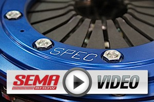 SEMA 2012: SPEC Comes Through in a Clutch