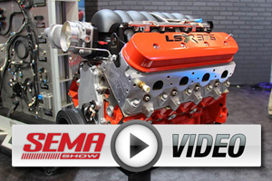 SEMA 2012: Chevy Performance Parts Highlights New Crate Systems