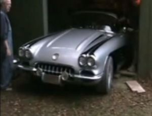 Video: A Pristine 1960 Corvette Barn Find