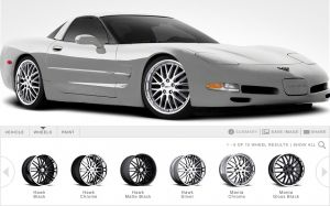 Custom Late-Model Corvette Wheels from Cray