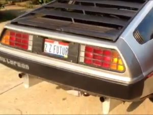 Swap Insanity: Video of LS1 Swapped DeLorean!