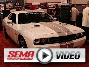 SEMA 2012: DiabloSport Cracks Code for 2011+ Mopars