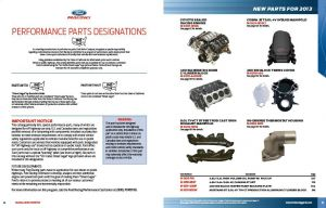 Ford Racing Releases 2013 Catalog Full Of Go-Fast Goodies