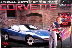 Blast from the Past: Bally's Corvette Pinball Game