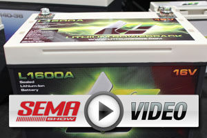 SEMA 2012: Lithium Pros Next Generation of Race Battery