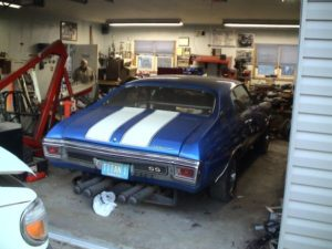 Craigslist find a 1970 chevelle with twin 455 v8s chevy for Garage chevrolet luxembourg