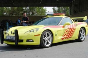 Dubai Cops Crack Down on Corvette Racers