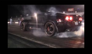 Video: 510 Race Engineering's Supercharged Corvette Runs 10.36