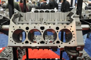 IMIS 2012: World Products' New Raised Cam SBC Engine Block