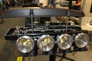 PRI 2012: Harrop Engineering's Hurricane ITB Manifold Flies-by-Wire