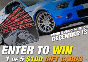 CJ Pony Parts Facebook Contest – Win $100 Gift Card In A Few Clicks