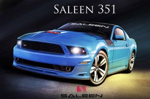 Steve Saleen Announces 2013 Saleen 351 Mustang at LA Auto Show