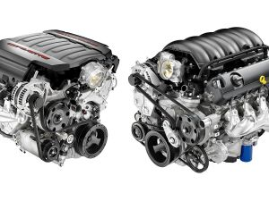 Corvette, GM Truck V8 Engines Have Much in Common