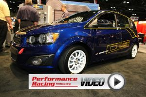 PRI 2012: Chevy Performance Introduces Sonic B-Spec Race Car Concept