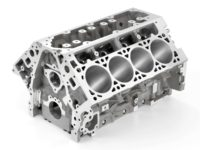 "2014 ""LT-1"" 6.2L V-8 VVT DI (LT1) Engine Block"