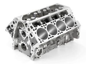 2014 &quot;LT-1&quot; 6.2L V-8 VVT DI (LT1) Engine Block