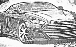 Rumor: 2015 Mustang Sketches Show Aston Martin Like Appearance?
