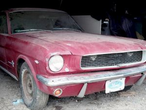 1966 Mustang Fastback Barn Find