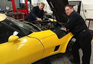 High School Shop Class Restores an '80 'Vette for a Vietnam Veteran