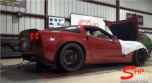Video: C6 Corvette With E-Force Blower Puts Down 710 RWHP