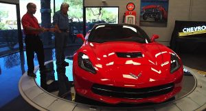Video: Jay Leno Reviews The Corvette Stingray