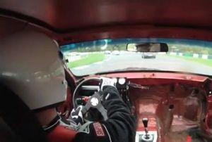 Video: '94 Mustang GT Loses Steering Wheel, Crashes During Race