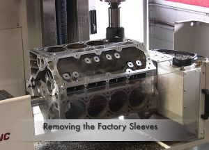 Video: Livernois Motorsports Block-Sleeving An LS3 For Big Cubes