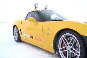 Video: Chris Knapman Drifts A Z06 On The Ice In Sweden