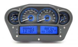 Dakota Digital Releases VHX Race-Themed Instrument Clusters