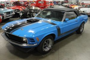 One-Of-None Boss Mustang Convertible Up For Grabs