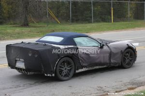 Convertible Corvette Could Debut At Geneva Auto Show