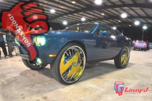 A Challenger SRT8 On 32-Inch Rims? Say It Isn't So