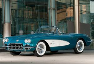 GM CEO's Vintage '58 Vette Brings in $270,000 for Charity